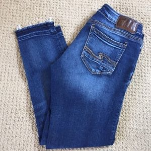 Silver Jeans Co. Suki Mid ankle Skinny Jeans